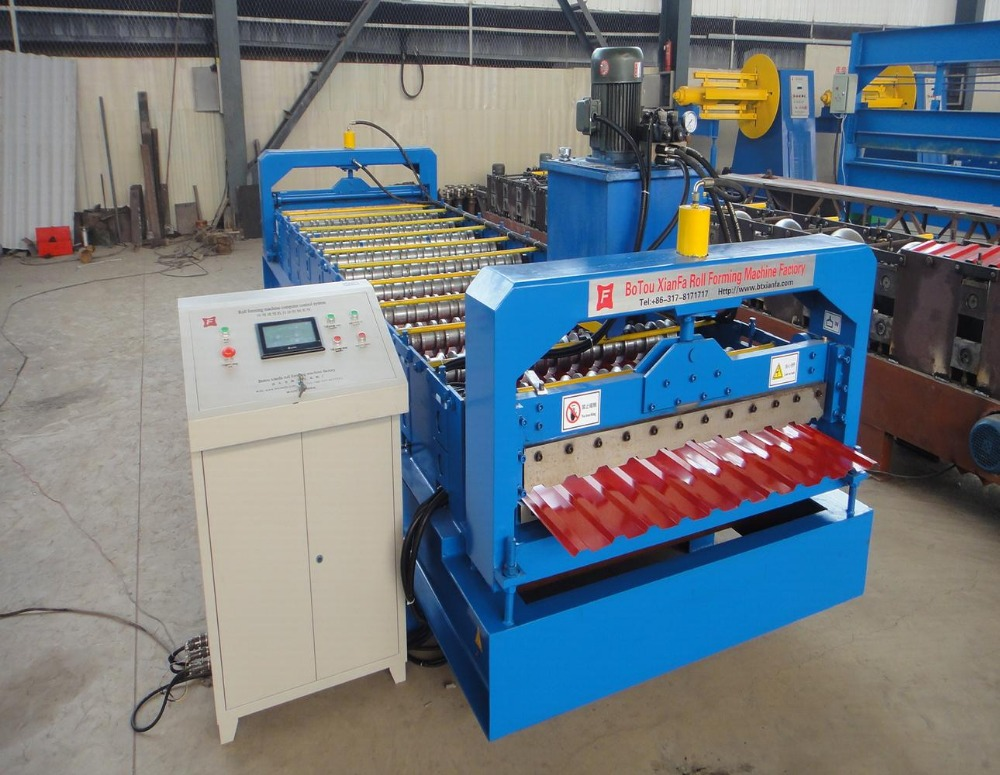 <strong>c10</strong> special roof panel sheet roll forming machine use for russia