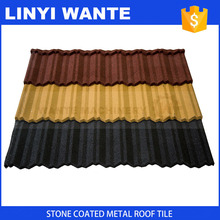 colorful classic roofing sheet, stone coated steel roof tile with high quality