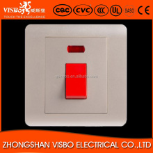 Good Quality new design Electrical water heater flow limited wall switches manufacturers