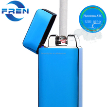 Double arc usb lighter X electric rechargeable funny lighter