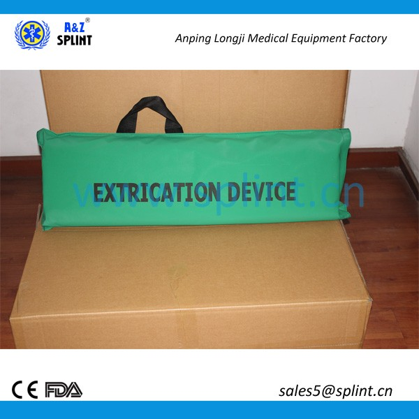 First-aid supply emergency splint extrication device