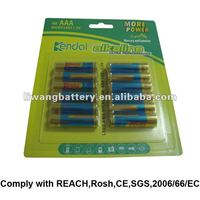 1.5V LR03 AAA alarm clock battery
