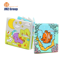 2018 cheap price bath time eco-friendly waterproof safe promotional soft plastic baby bath book