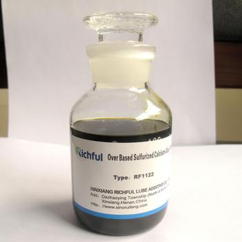 RF 1122 Overbased Sulfurized Calcium Alkyl Phenate Lubricant Additive for ICE oils
