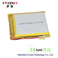 Solar battery 3.7V 4000mah battery rechargeable battery li-ion
