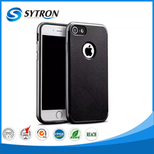 Dual Protective Bumper Carbon Fiber case for samsung galaxy mini 2
