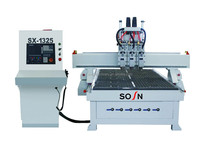 Multi CNC Router CNC 3D Relief CNC Router For Wood Engraving With High Efficiency