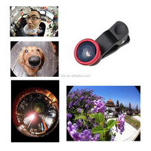 New Quality For Mobile phone 3in1 Fish Eye + Wide Angle + Macro Lens Camera Kit