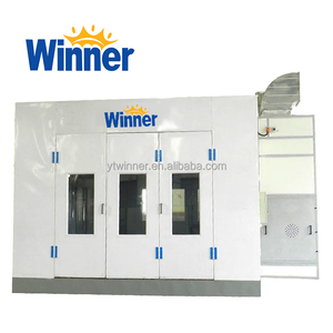 M3200B WINNER Europe Type Standard Car Spray Painting Booth Furniture Paint Booth