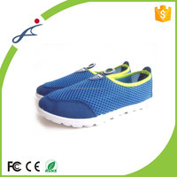 Durable OEM service fashion and comfort blue low price sports shoes for men