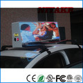 3G/WIFI/GPS/USB Mobile xxx Video Wireless Advertising Taxi Top LED Display
