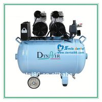 oil lubricated air compressor for 3 pcs of Dental Units