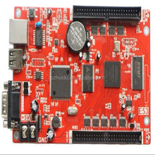 Graphics Display Function and 10mm Pixels Single Red P10 Led display module HD-E53