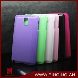 color coated hard fancy cover for samsung galaxy note 3 case