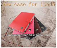 High imitation PU case for ipad 5 case for ipad5 High quality tablet case for ipad 5