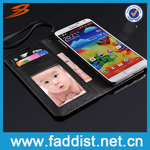 Classical Bumpers for Samsung Galaxy Note 3 N9000 Leather Wallet Case