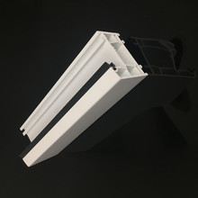 Custom-Made White Plastic Profile Extruded L Shape PVC or ABS Profile Set