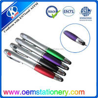promotional ball pen and touch screen stylus