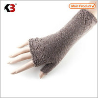 2016 Top quality simple cheap fingerless gloves long hand knitting gloves hand job gloves