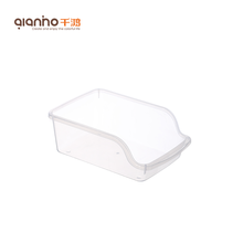 Wholesale unique custom clear small kitchen holder storage plastic food vegetable container wine storage box