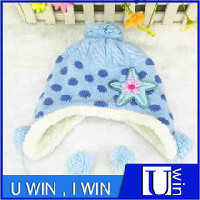 blue fashion boy winter children felt hats