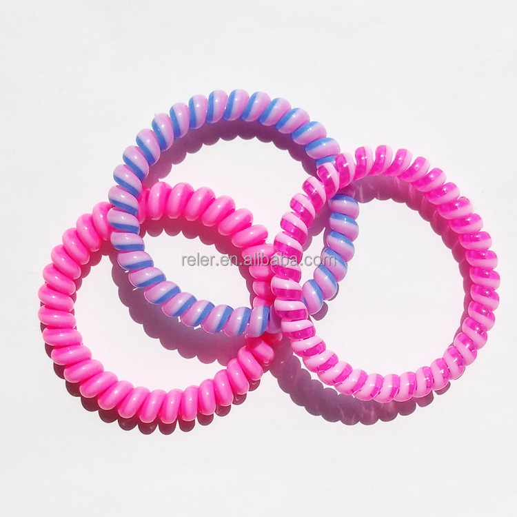 Hair circleCustomized color fabric telephone linehair cord roll hair rings