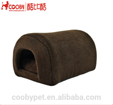 New hot selling sherpa/lamb wool dog pet cage house