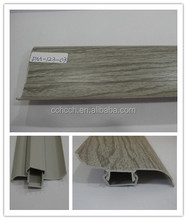 skirting board pvc/wood baseboard/floor skirting board rubber