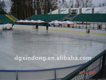 china excellent quality rollerskating ice rink PE flooring hose strip mat