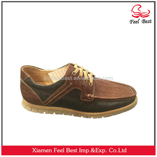 Hot selling Mens Casual Lace-Up Driving Loafers Boat Shoes