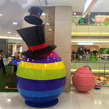 Giant Easter Egg for Shopping Mall Decoration