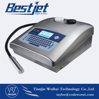 WRS300 continuous ink jet printer for batch number and expiry date time