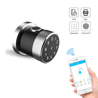 TTLock App Bluetooth keyless entry door lock Electronic Digital Keypad Smart Biometric Fingerprint lock