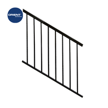 High quality Aluminium Balustrades stair handrail balcony railings outdoor wrought iron stair railing