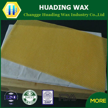 making beeswax foundation