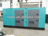 280KW Powerplant Engine Power Electricity Enclosed Diesel Generator Set