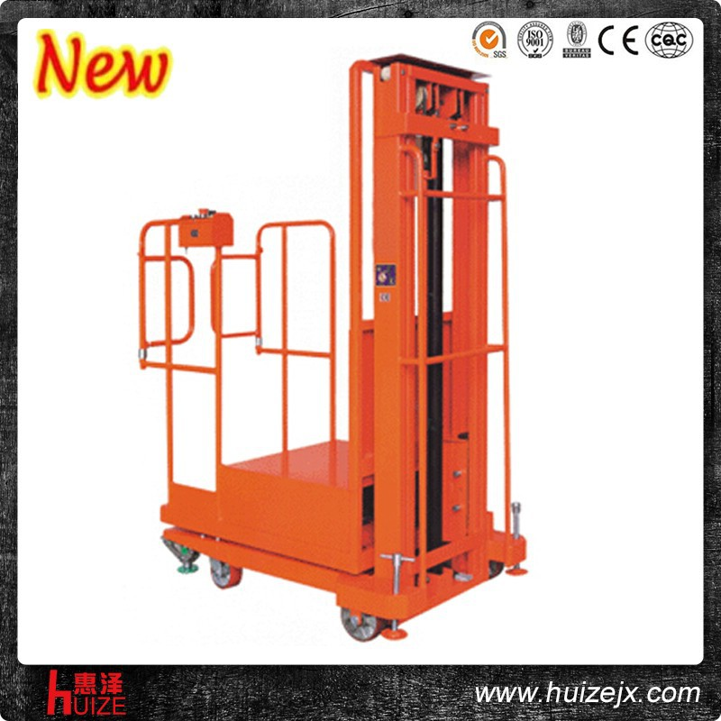 Material Handling Equipment 300KG Hydraulic Electric Aerial order picker