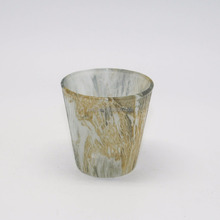 High Quality Marble Glass Votive Candle Holder
