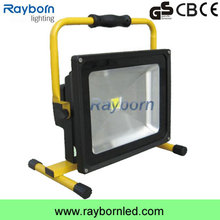out door work high quality 30w camping fishing out door car and boat emergency battery power rechargeable led flood/work light