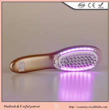 Our Company Want Distributor Health Beauty Head Massage Led Therapy Hair Brush