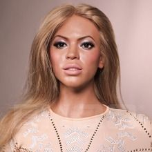 Famous Singer Beyonce Lifesize Wax Figure for Sale