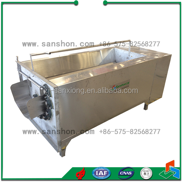 Sanshon MXJ-10G Fruit and Vegetable Brush washing and Peeling Machine Industrial Product