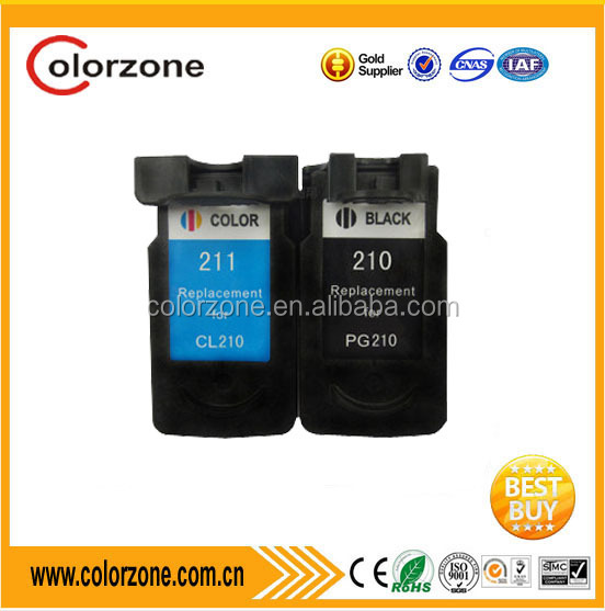 Printer Cartridge Replacement for Canon PG 210 CL 211 Ink Cartridge for Canon PIXMA IP2700 IP2702 MP230 Show