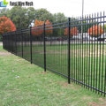Decorative wrought iron fence panels with different finals for US
