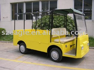 2 seats electric industrial vehicle/electric car,used in closed factory,airports EG6021H