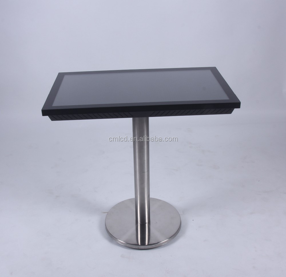 32inch touch screen table kiosk(base on intel i3 core)