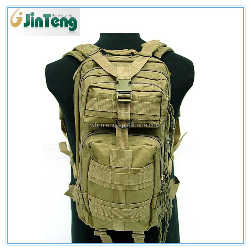 level 3 milspec molle assault coyote brown backpack bag