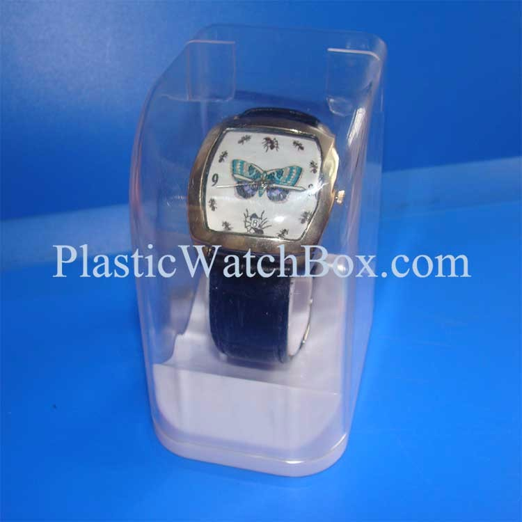 Custom Brand-name Clear Display Box for Watch Sale
