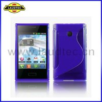 For LG Optimus L3 E400 S Line Wave TPU gel case cover NEW PRODUCT!!!!!!