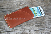 Leather Case For HTC one x with card holder
